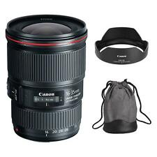 Canon EF 16-35mm f/4L IS USM Lens for Canon DSLR Camera body - New