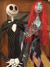 Jack and Sally Wall Decor 2016 Lights Sound Nightmare Before Christmas Halloween