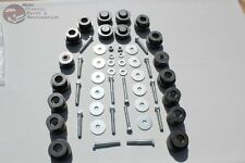 Body Frame Mount Rubber Bushing Bolt Hardware Kit GTO Skylark GS Tempest Convert