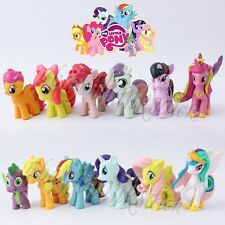 Set of 6pcs My Little Pony Twilight Sparkle/Dash 4cm-5cm PVC Mini Figure Random