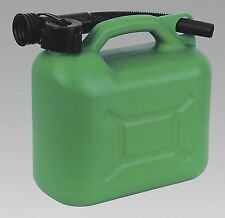 UNLEADED FUEL JERRY PETROL CAN  5 LITRE * GREEN