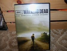The Walking Dead: The Complete Second Season (DVD, 2012, 4-Disc Set) EUC
