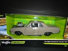 Maisto Chevrolet Malibu SS 1965 Engine Blower Grey 1/24