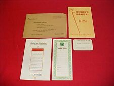 1954 WILLYS 675 685 B OWNERS MANUAL SERVICE GUIDE + CASE WIRING DIAGRAM 54
