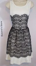 NWT Hem Thread Lace All over Dress SIZE L Turn Heads In our gorgeous lace dress!