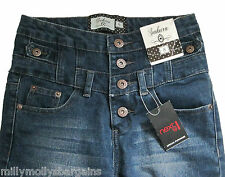 New Womens Dark Blue Sakura NEXT Jeans Size 6 Regular LABEL FAULT