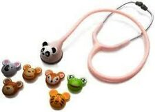 ADSCOPE 618 PINK ADIMAL PEDIATRIC STETHOSCOPE W/ INTERCHANGEABLE ANIMAL FACES