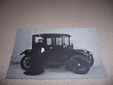 1917 RAUCH & LANG ELECTRIC CAR - ANTIQUE AUTOMOBILE POSTCARD
