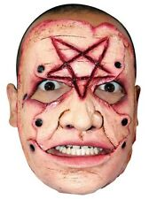 Satanic Pentagram Serial Killer Mask Gruesome Latex Face Mask CC26051