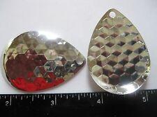 5 #8 DEEP CUP Aspen Colorado nickel Blades *Hex design*