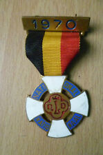BADGE- 1970 NATIONAL NATIONAAL- NLD (Metal, approx. 3.4x3.4 cm)
