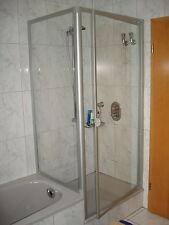 Duschkabine 90x90 185/160 cm Drehtür + Seitenwand  verkürzt Duschabtrennung