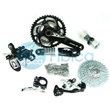 New Shimano Deore XT M780 30 10-speed Group set Groupset Dyna-Sys Black