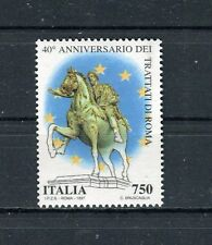 Italia 1997 40° anniversario dei trattati di Roma MNH