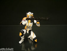 "Custom 1/18 Microman DLX Republic Army Clone Commander Cody Star wars 4"" Figure"