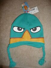 PHINEAS and Ferb movie Cartoon PERRY Agent P DISNEY XD Cap Beanie Ski HAT NEW