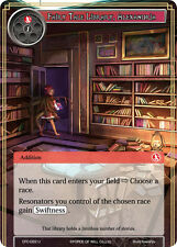 Force of Will TCG  x 4 Fairy Tale Library, Alexandria [CFC-022 U] English [NM-Mi