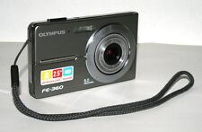 Olympus FE-360 8.0MP 3X Optical Zoom Silver Digital Camera SOLD AS IS FOR PARTS