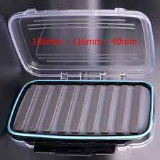 Large Clearview Double Sided Waterproof Slotted Fly Boxes