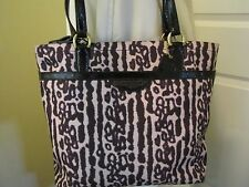 COACH OCELOT LEOPARD ANIMAL PRINT TOTE SHOULDER HAND BAG F31901