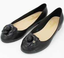 Chanel Camellia Flats - Size 37