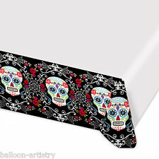 1.4mx2.6m Halloween Muertos Day Of The Dead Festival Party Plastic Table Cover