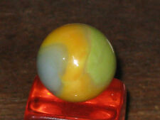 A BIT DIFFERENT TIGER EYE PATCH VINTAGE VITRO AGATE GLASS MARBLE MARBLES