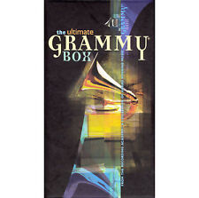 THE ULTIMATE GRAMMY BOX 4-Disc CD Box Set with 32-page Booklet-