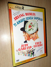 DVD FRED ASTAIRE COLLECTION TI AMAVO SENZA SAPERLO EASTER PARADE JUDY GARLAND