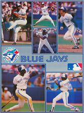 MONSTER POSTER:MLB BASEBALL: TORONTO BLUE JAYS  - 6 STARS -#PW-SLMP-TBJ RAP118 B