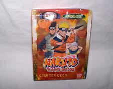 """Naruto - Starter Deck """" Blätter-Reich """" - Serie 1 -von BANDAI-Neu,OVP,Lizenz,RAR"""