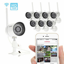 Funlux 8 720p IP Outdoor Wireless IR Night Vision Home Security Camera System