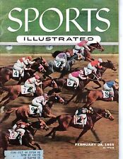 1955 Feb. 28 Sports Illustrated magazine, Horse Racing, Swaps, Santa Anita Derby
