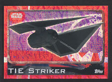 Topps Star Wars - Rogue One # 179 TIE Striker - Holographic Foil