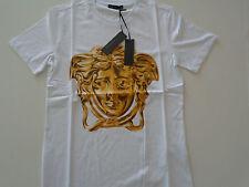 Versace Men's Print T-shirt White  Size 2XL