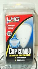 LHG SPORTS JUNIOR YOUTH ATHLETIC JOCK WAIST SUPPORTER & CUP 20-24 SUPPORT NEW