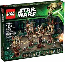Lego 10236 Ewok Village Star Wars (MISB) Endor UCS (includes 17 minifigures!!)