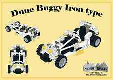 LEGO custom modular building instruction - Dune Buggy Iron type