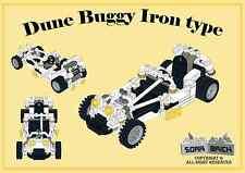 LEGO custom modular building instruction - Dune Buggy Iron type