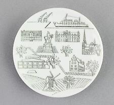 Un pequeño Rorstrand Pin Plato/Placa de Pared. diseño sueco Malmo.