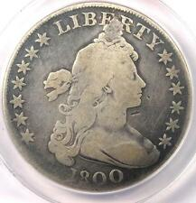 New listing 1800 Draped Bust Silver Dollar $1 - Certified Anacs G4 Details - Rare Coin!