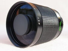 SUPERBA 500 / 800 mm MIRROR LENS accoppiamenti Pentax K, Canon EOS, EF, DIGITALE, Nizza!