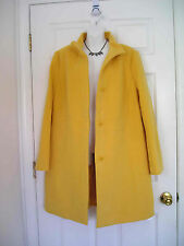 $309 NWT TALBOTS WOOL THINSULATE YELLOW COAT JACKET 22WP 22W Petite 3XP (sp833k)