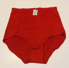 LUCII WOMEN'S BRIEF 5XL STRETCH PANTY / UNDERWEAR RED COLOR NWT