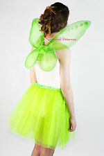 UK STOCK FAIRY PRINCESS PIXIE WINGS - PIXIE DRESS UP - LADIES  FAIRY DRESS UP