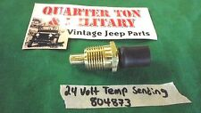 Jeep Willys M151 M38 M38A1 M37 24v temperature sending unit