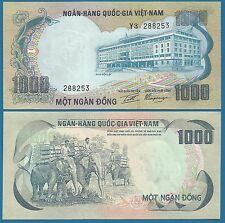 South Vietnam 1000 Dong P 34 a ND (1972) UNC ! Low Shipping! South Viet Nam