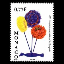 Monaco 2006 - International Bouqet Competition Flowers Flora - Sc 2414 MNH