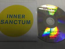 PET SHOP BOYS - INNER SANCTUM - NEW OFFICIAL ONE TRACK CD PROMO