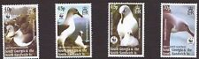 South Georgia & South Sandwich 2003 WWF Grey-Headed Albatross SG 353-356 u/m